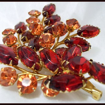 Another Vintage Brooch -- Unknown - Costume Jewelry
