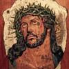 Brass Jesus plaque