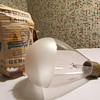 Antique Pat. Date 1904 Large Frosted Edison Bulb