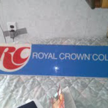 old rc cola sign
