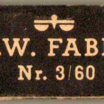 1950's - A.W. Faber Drawing Pencil Lead Refills - Office