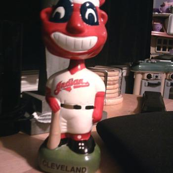 TEI 1996 Cleveland Indians Nodder - Baseball