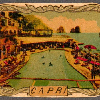 Travel Decal - Capri, Italy - Advertising
