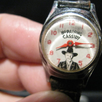 Hopalong Cassidy wristwatch  - Wristwatches