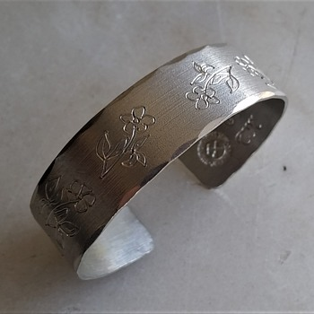 Pewter bracelet  from Sweden - Fine Jewelry