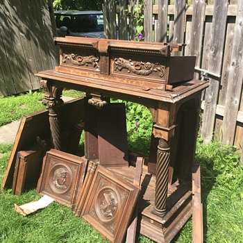 Antique something or other curb find  - Furniture