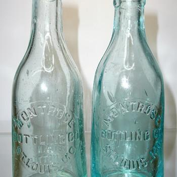 Montrose Bottling Co / St. Louis, Missouri - Bottles