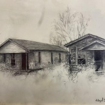 Pencil drawing by Lloyd Smith - Fine Art