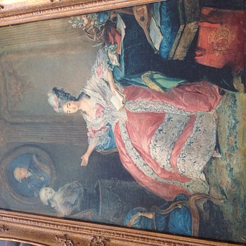 Antique Portrait Paintings. What Are These? - Fine Art