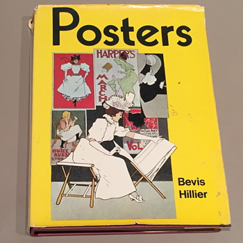 Book on posters by Bevis Hiller. - Books