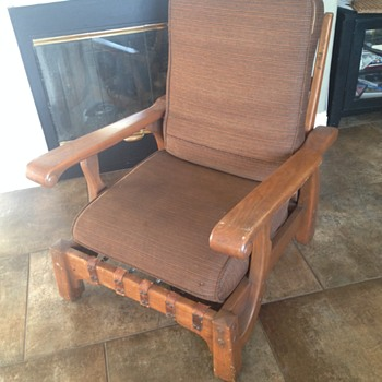 Who made this reclining chair??  - Furniture