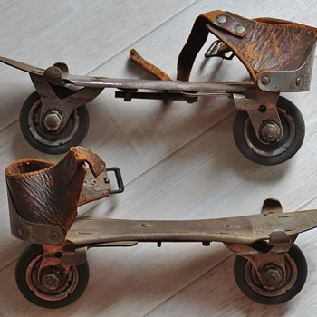 Very old roller skates  - Sporting Goods