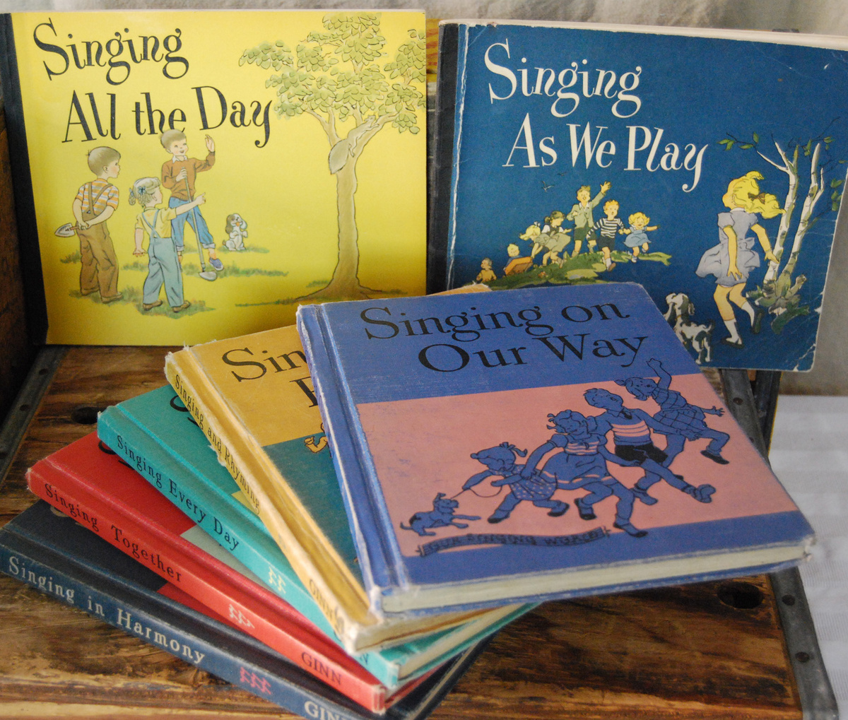 books music collection stories schools songs collectors fun years