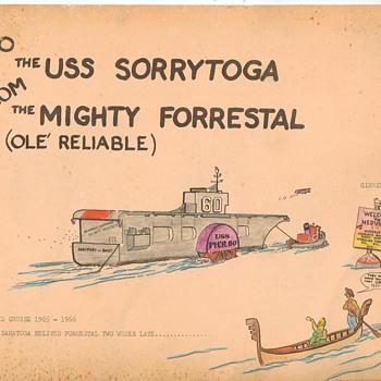 Mediteraenan Cruise of 1965-1966 - Military and Wartime