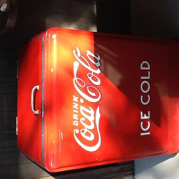 1930's Westinghouse Ice Chest - Coca-Cola