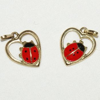 Ladybug Pendants - Fine Jewelry