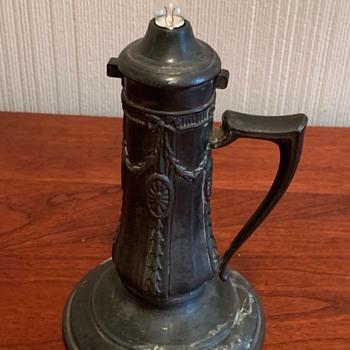 Antique Flashlight - Silver