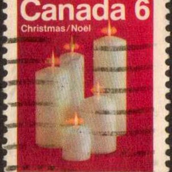 "1972 - Canada ""Christmas"" Postage Stamps - Stamps"