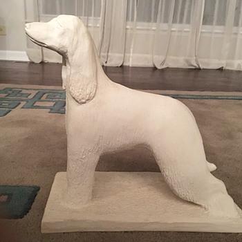 Continental Studios Afghan Hound Plaster Statue - Animals