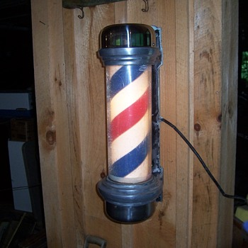 MARVY 55 BARBER POLE - Advertising