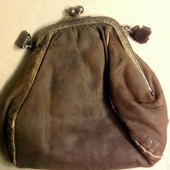 "Antique ""Victorian?"" leather purse - Accessories"
