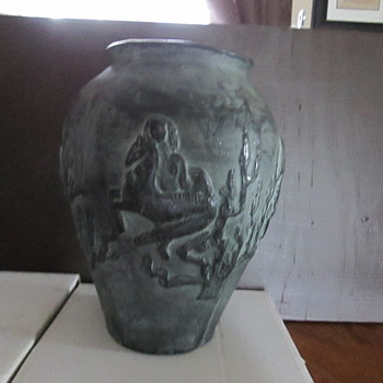 Gorgeous Vase/Water Jug or possibly an Urn - Pottery