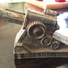 Old Metal Toy  Cannon