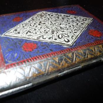 Vintage Cigarette Case - Tobacciana