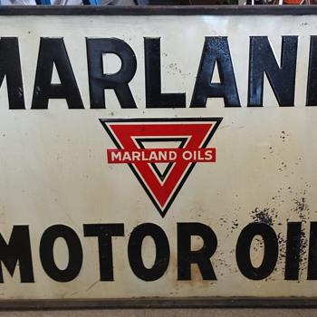 Marland Oil Company Signs - Petroliana