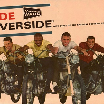 1965 - Montgomery Ward / Benelli Motorcycles Poster - 1 - Posters and Prints
