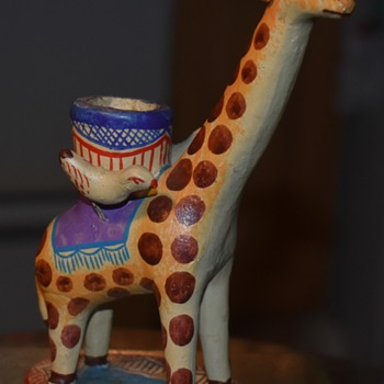 Mexican Giraffe [?!] - Folk Art