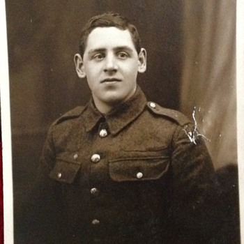 My Grandad during the First World War - Photographs