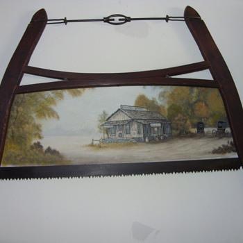 old saws - Folk Art