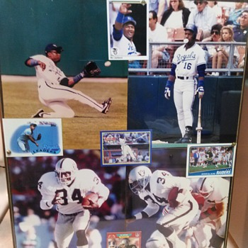 BO JACKSON PHOTO AND CARDS - Baseball