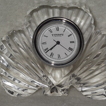 Tipperary Crystal Clock - Clocks