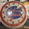 Peerless Ice Cream Clock
