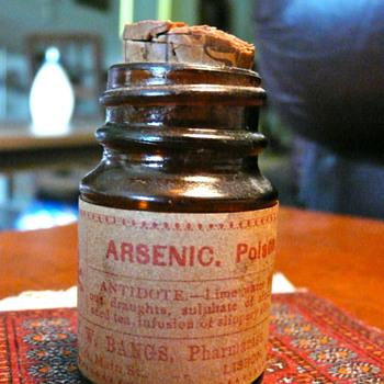 Old Arsenic Bottle - Bottles
