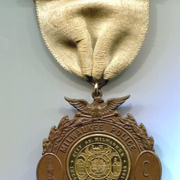 Milwaukee Police Dept. Band Medal