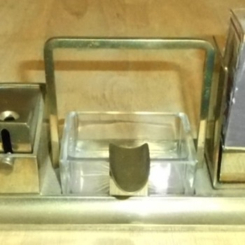 Match Holder - Cigar Cutter - Ashtray - Tobacciana