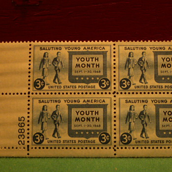 1948 Saluting Young America 3¢ Stamps