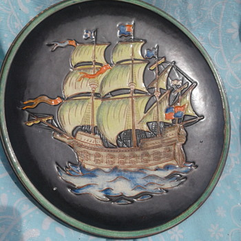 Decorative Plate - Pottery