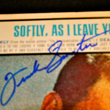 Frank Sinatra Signed Cover - Music Memorabilia