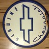 Genuine Chevrolet Round Sign