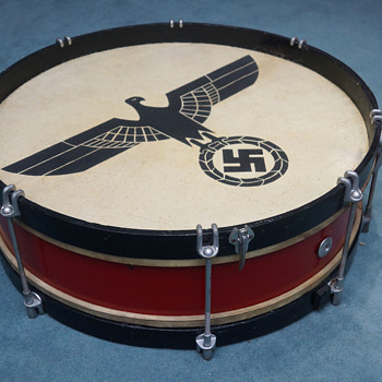 German WWII ceremonial drum - Military and Wartime