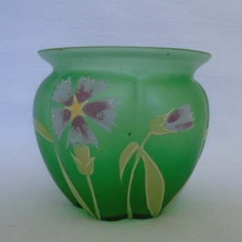 Small Goldberg Vase - Art Glass