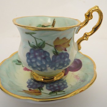 Miniature Cup and Saucers - Raymond Everill - China and Dinnerware