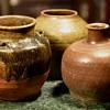 Arrangement of Old Chinese Food Storage Vessels