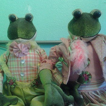 Mr and mrs frogs - Dolls