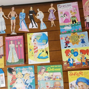 Paperdolls of the 50s and 60s  - Dolls