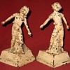 """1930 Everstyle """"Boy and Girl"""" Bookends"""